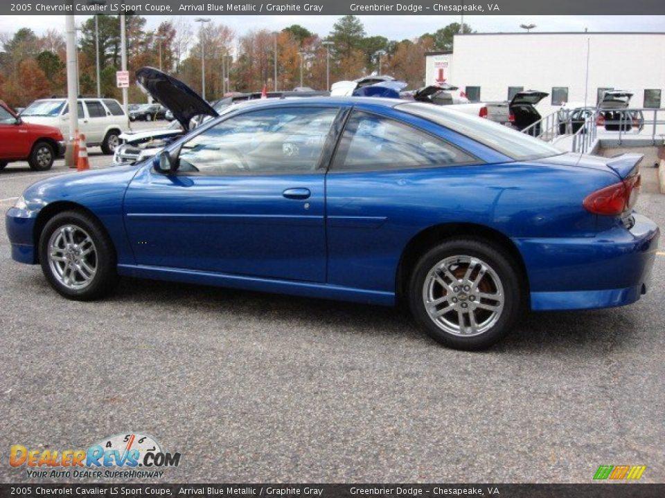 arrival blue metallic 2005 chevrolet cavalier ls sport coupe photo 3. Black Bedroom Furniture Sets. Home Design Ideas