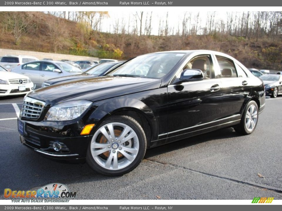 2009 mercedes benz c 300 4matic black almond mocha photo for 2009 mercedes benz c 300