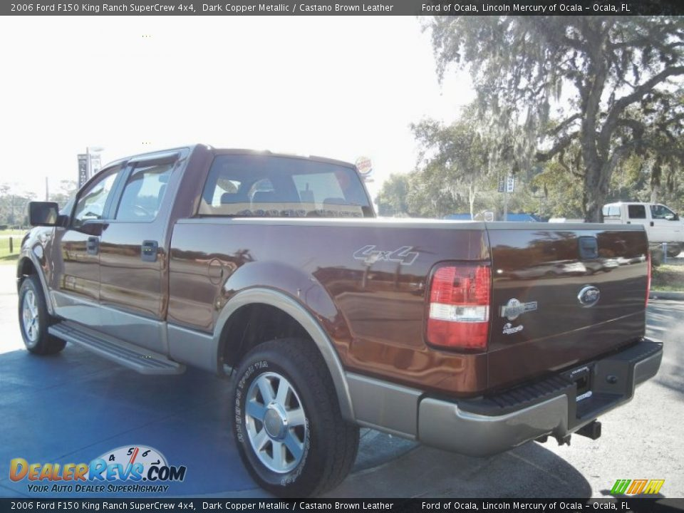 2006 Ford F150 King Ranch SuperCrew 4x4 Dark Copper ...