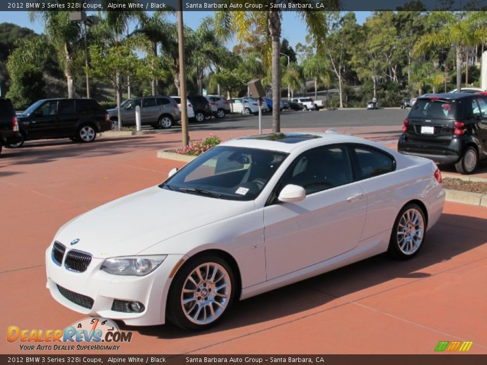 alpine white 2012 bmw 3 series 328i coupe photo 2. Black Bedroom Furniture Sets. Home Design Ideas