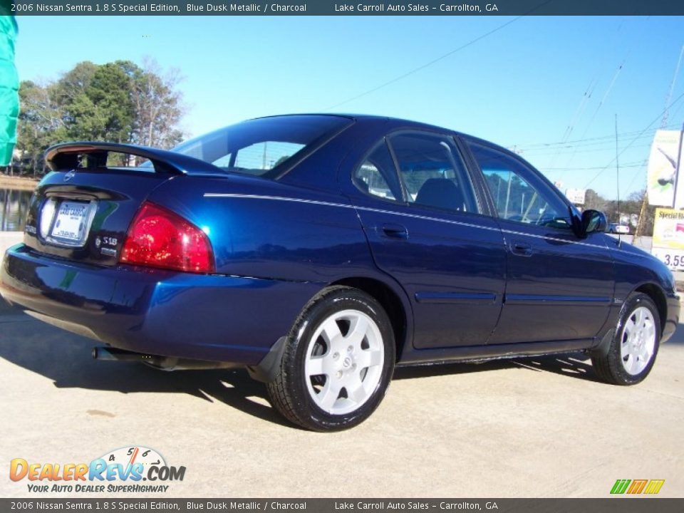 2006 nissan sentra 1 8 s special edition blue dusk metallic charcoal photo 5. Black Bedroom Furniture Sets. Home Design Ideas