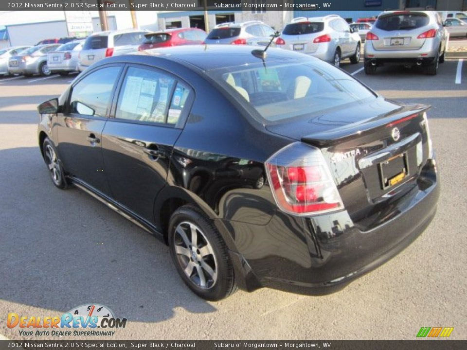 2012 nissan sentra 2 0 sr special edition super black charcoal photo 5. Black Bedroom Furniture Sets. Home Design Ideas