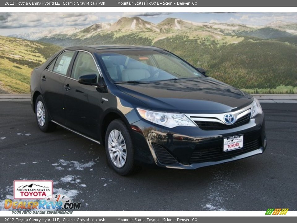 2012 toyota camry hybrid le cosmic gray mica ash photo 1. Black Bedroom Furniture Sets. Home Design Ideas