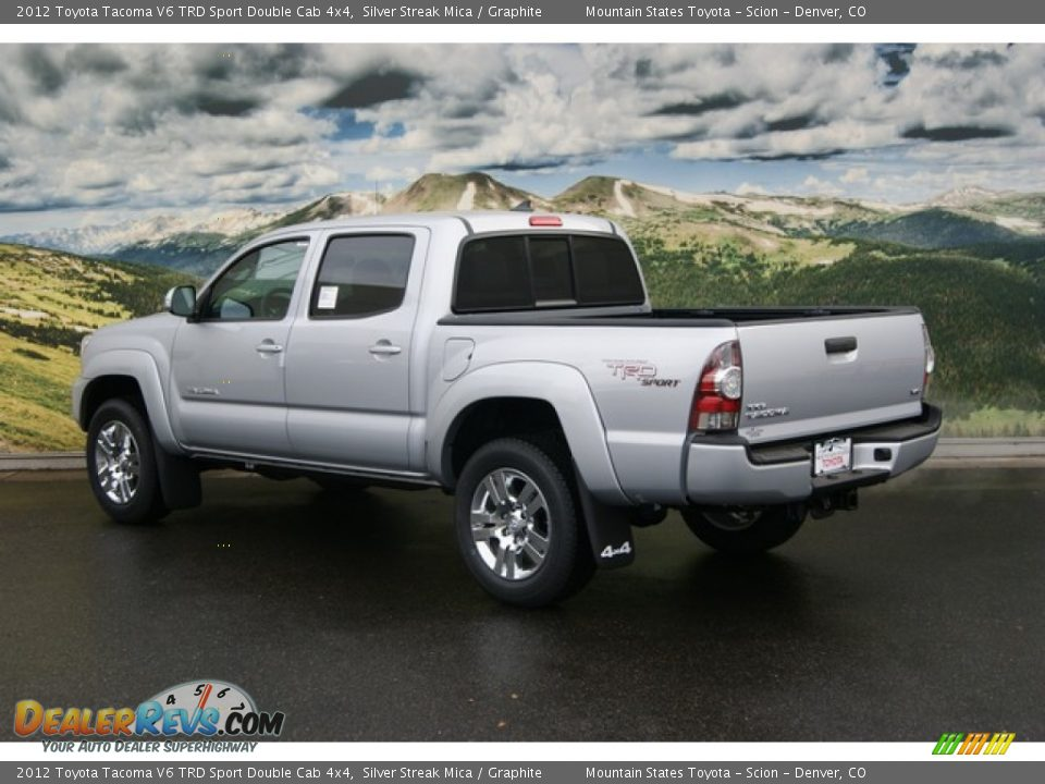 2012 toyota tacoma v6 trd sport double cab 4x4 silver streak mica graphite photo 3. Black Bedroom Furniture Sets. Home Design Ideas