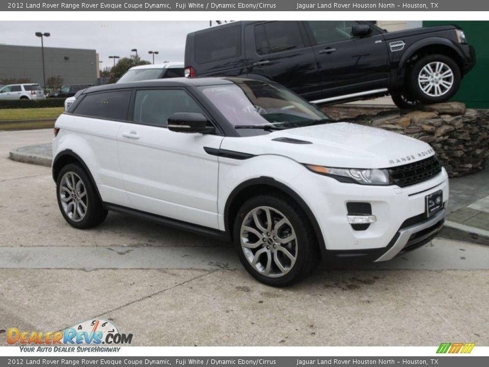 White Range Rover Evoque Car Interior Design
