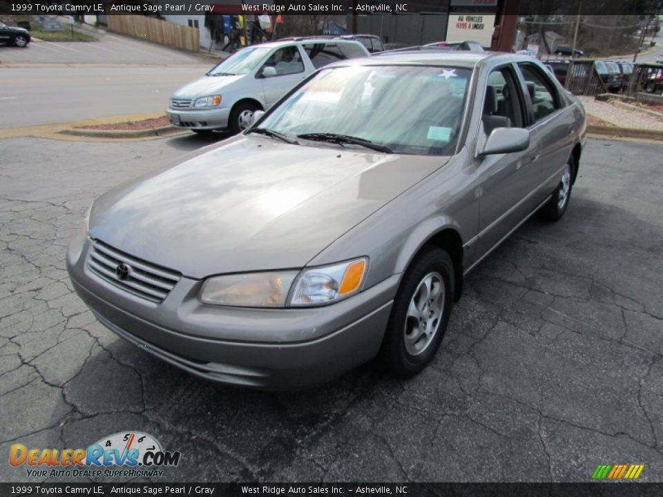 1999 Toyota Camry Le Antique Sage Pearl Gray Photo 10