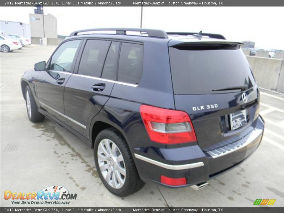 2012 mercedes benz glk 350 lunar blue metallic almond for Mercedes benz glk 2012