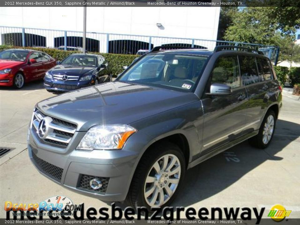 2012 mercedes benz glk 350 sapphire grey metallic almond for Mercedes benz glk 2012