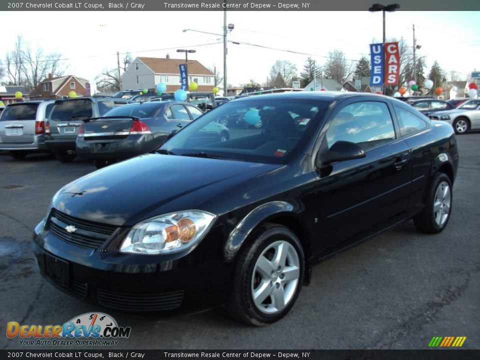 2007 chevrolet cobalt lt coupe black gray photo 1. Black Bedroom Furniture Sets. Home Design Ideas