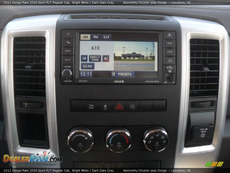 2012 Dodge Ram 1500 Sport White 2012 Dodge Ram 1500 Sport r t