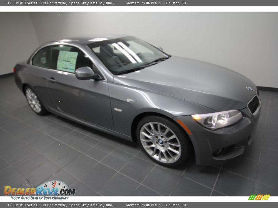 2012 bmw 3 series 328i convertible space grey metallic black photo 5. Black Bedroom Furniture Sets. Home Design Ideas