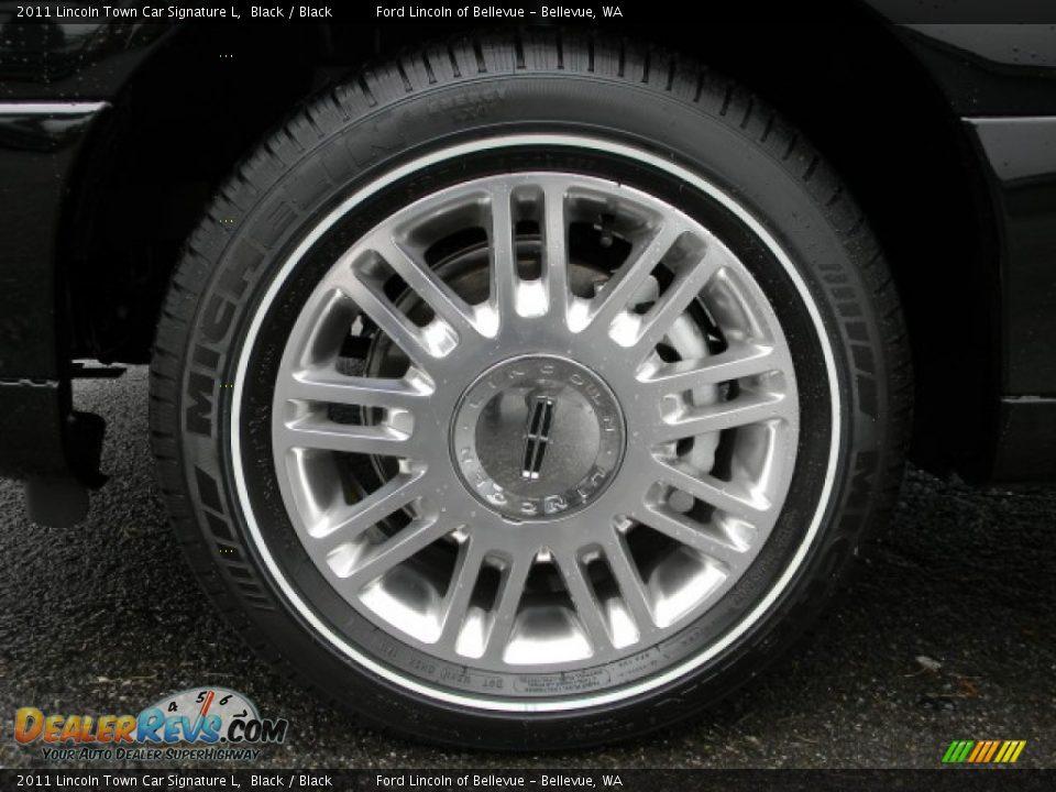 2011 lincoln town car signature l wheel photo 3. Black Bedroom Furniture Sets. Home Design Ideas