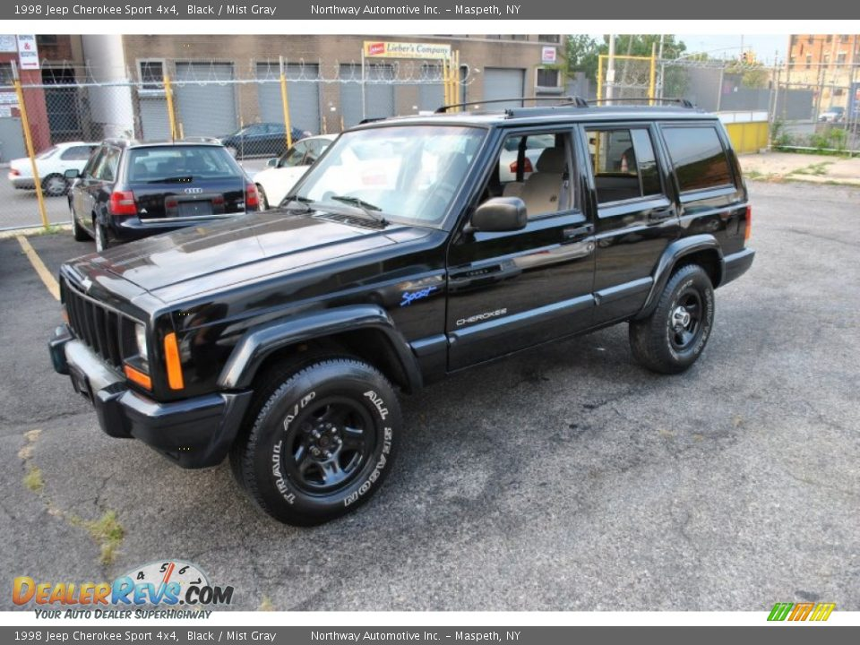 1998 jeep cherokee sport 4x4 black mist gray photo 4 dealerrevs. Cars Review. Best American Auto & Cars Review
