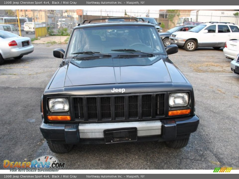 1998 jeep cherokee sport 4x4 black mist gray photo 5 dealerrevs. Cars Review. Best American Auto & Cars Review