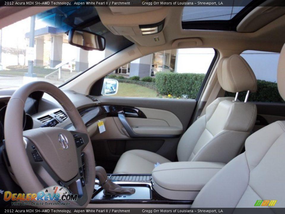 Parchment Interior - 2012 Acura MDX SH-AWD Technology Photo #16 | DealerRevs.com