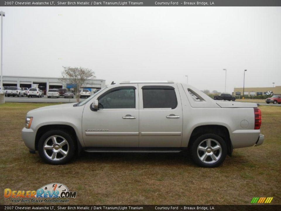 2007 Chevrolet Avalanche LT Silver Birch Metallic / Dark ...