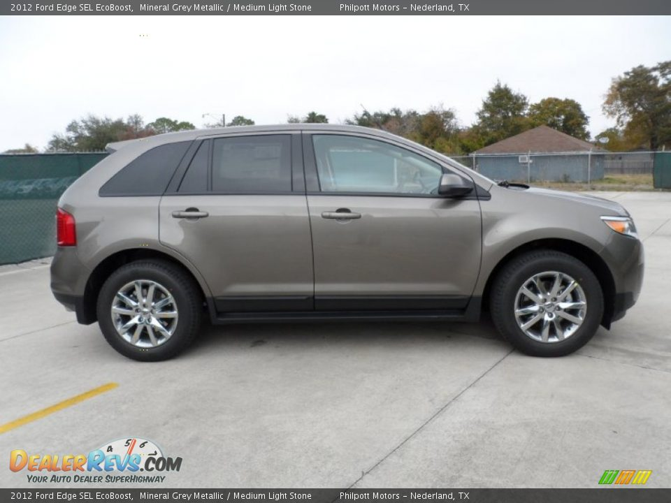 Mineral Grey Metallic  Ford Edge Sel Ecoboost Photo