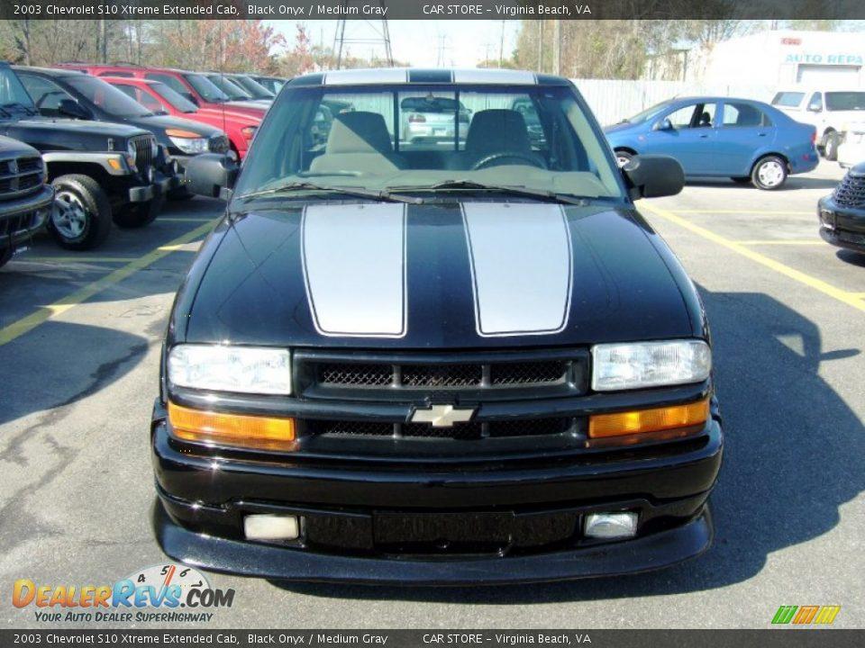 2003 Chevrolet S10 Xtreme Extended Cab Black Onyx Medium