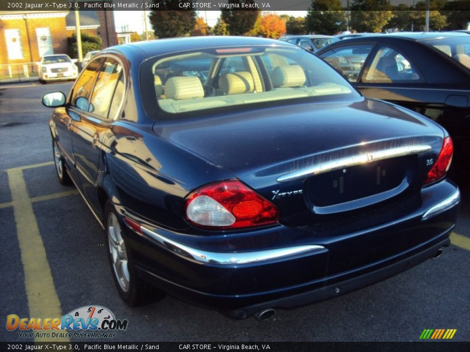 2002 jaguar x type 3 0 pacific blue metallic sand photo 6. Black Bedroom Furniture Sets. Home Design Ideas