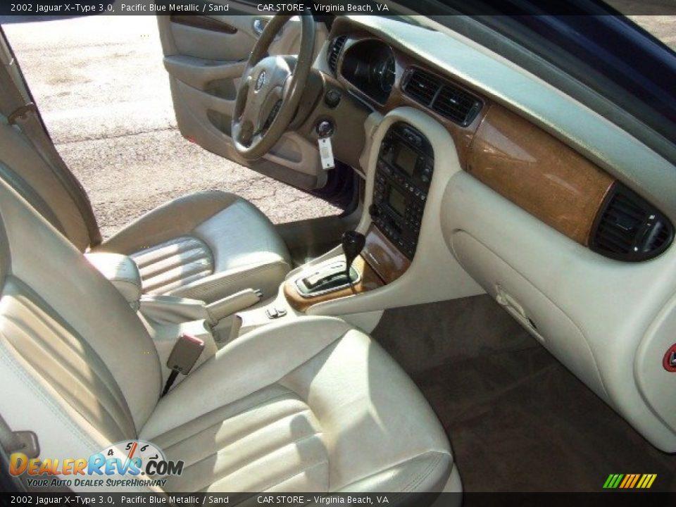 2002 jaguar x type 3 0 pacific blue metallic sand photo 12. Black Bedroom Furniture Sets. Home Design Ideas