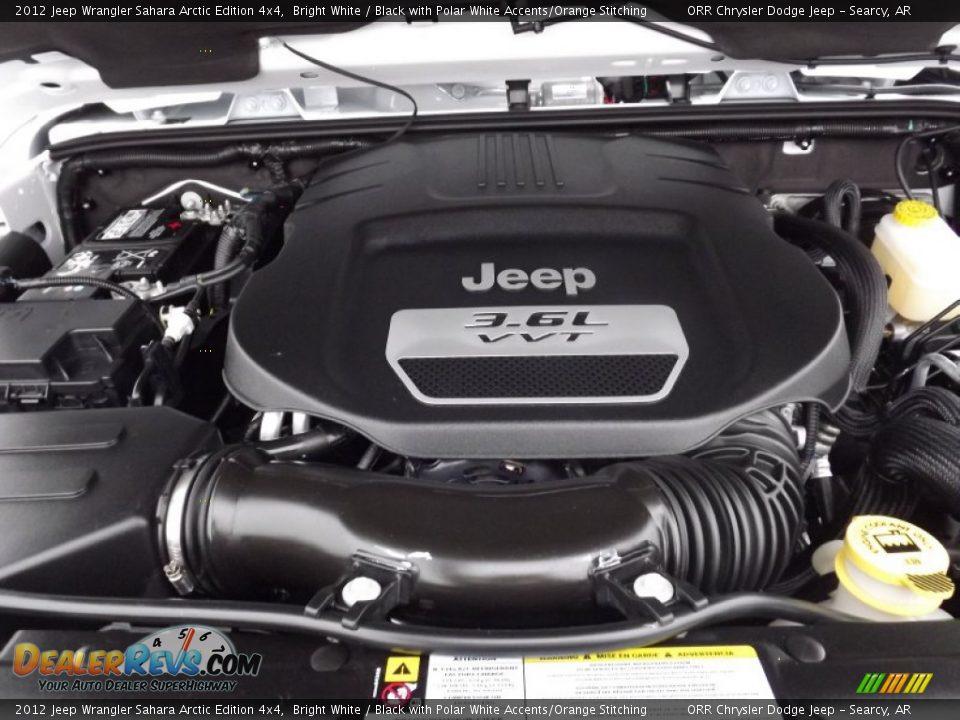 2012 jeep wrangler sahara arctic edition 4x4 3 6 liter dohc 24 valve vvt pentastar v6 engine. Black Bedroom Furniture Sets. Home Design Ideas