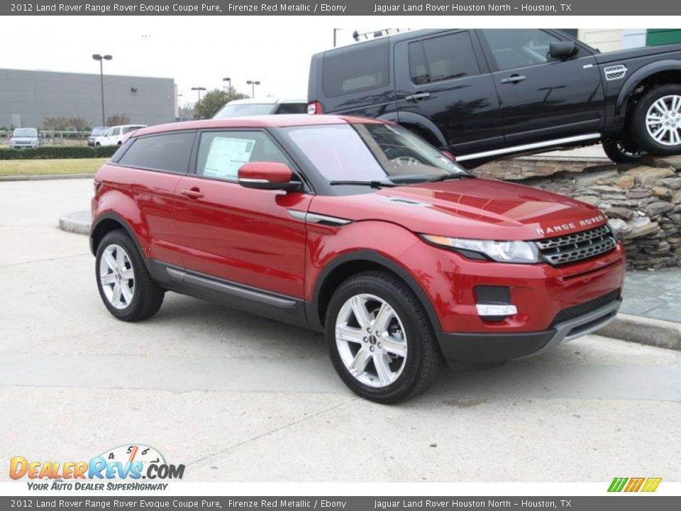 front 3 4 view of 2012 land rover range rover evoque coupe. Black Bedroom Furniture Sets. Home Design Ideas