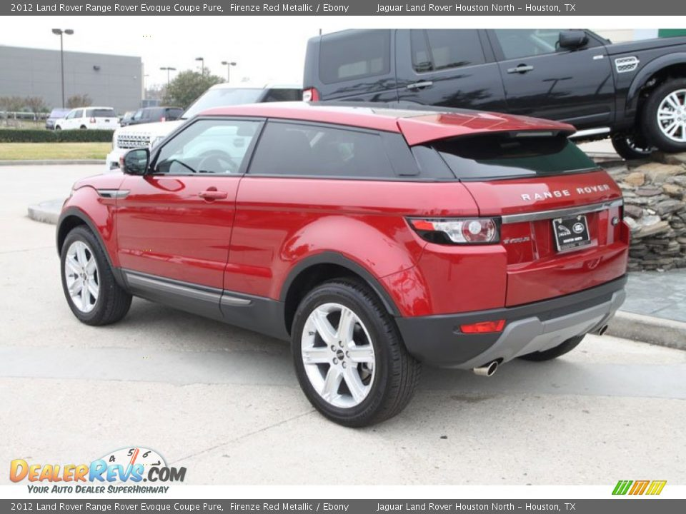 2012 land rover range rover evoque coupe pure firenze red. Black Bedroom Furniture Sets. Home Design Ideas