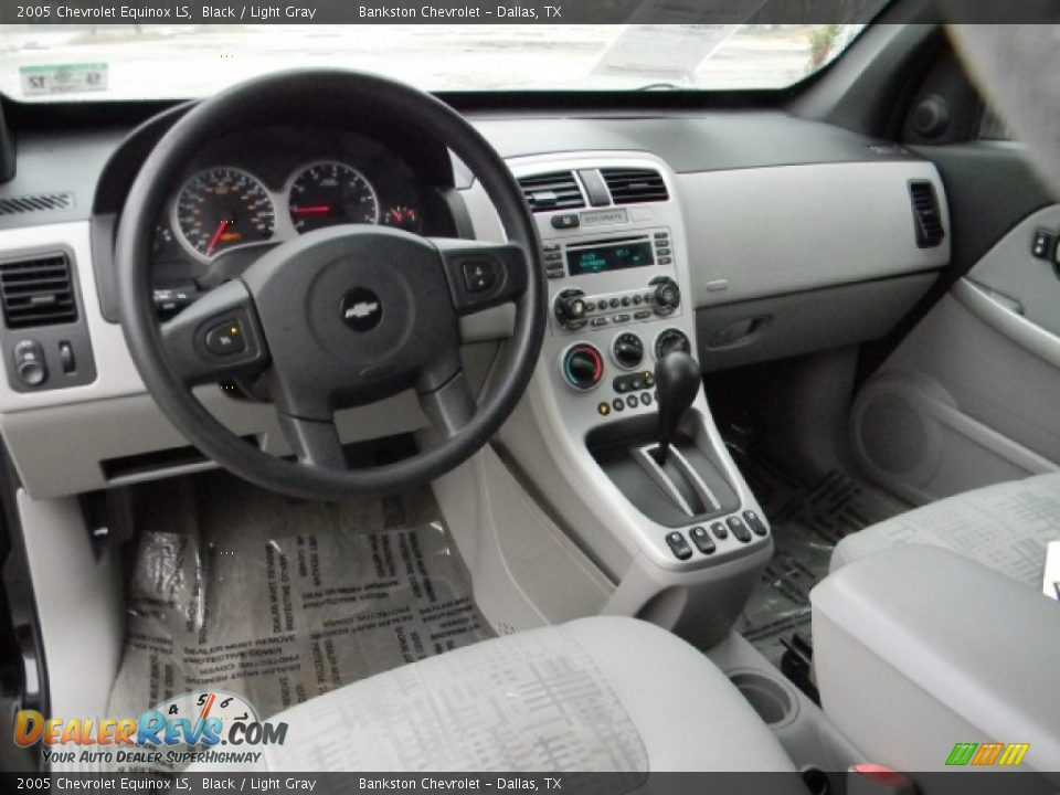 2005 Chevrolet Equinox LS Black / Light Gray Photo #9   DealerRevs.com