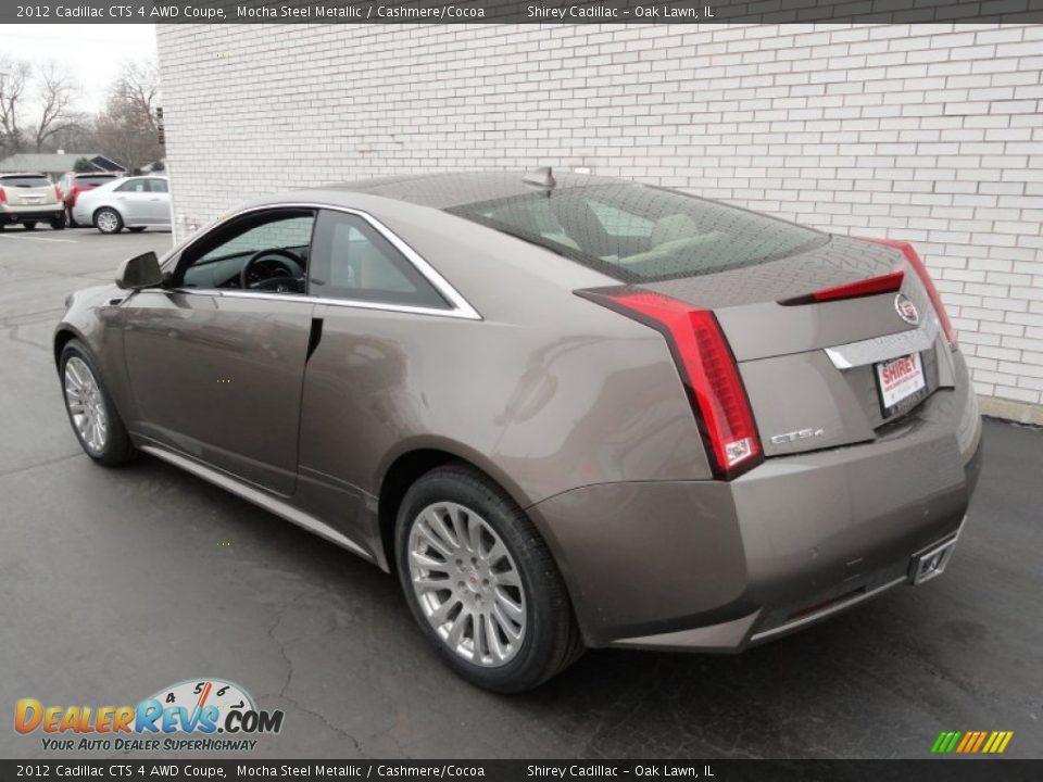 2012 Cadillac Cts 4 Awd Coupe Mocha Steel Metallic