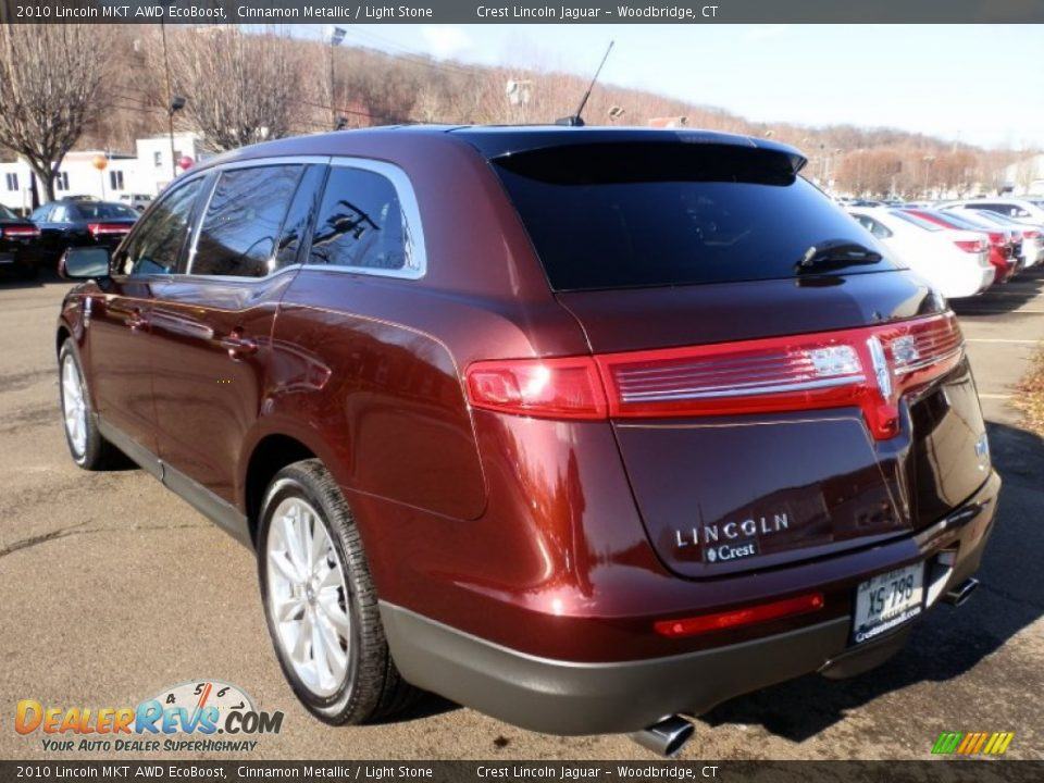 2010 Lincoln Mkt Awd Ecoboost Cinnamon Metallic Light