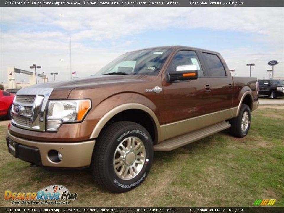 front 3 4 view of 2012 ford f150 king ranch supercrew 4x4 photo 3. Black Bedroom Furniture Sets. Home Design Ideas