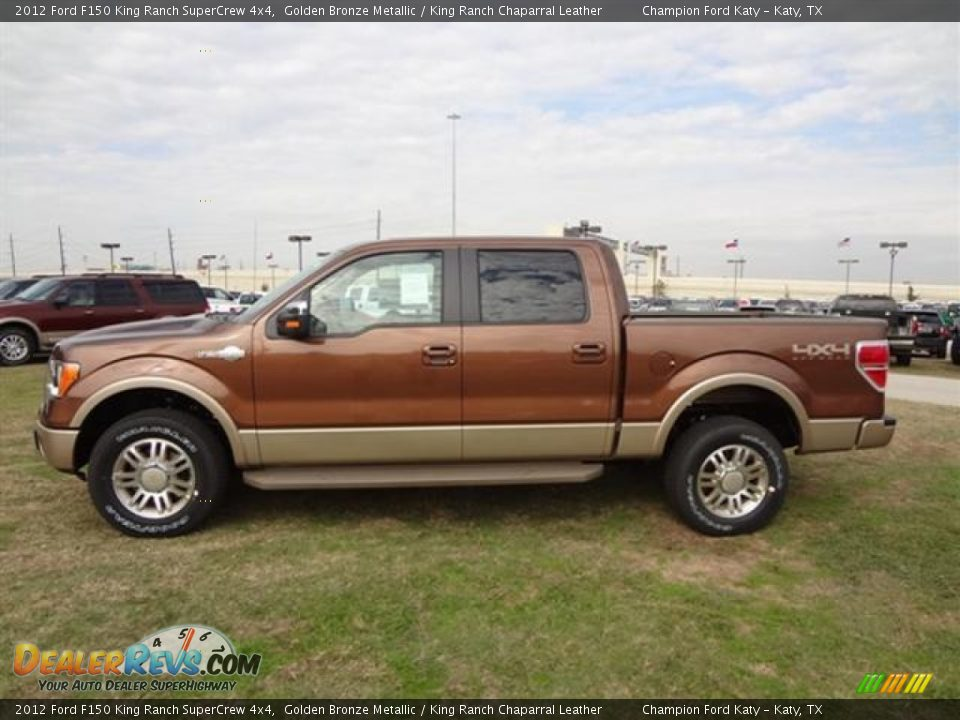 golden bronze metallic 2012 ford f150 king ranch supercrew 4x4 photo 4. Black Bedroom Furniture Sets. Home Design Ideas