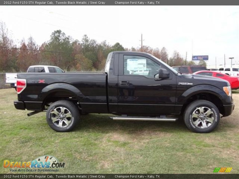 2012 ford f150 stx regular cab tuxedo black metallic steel gray photo 8. Black Bedroom Furniture Sets. Home Design Ideas