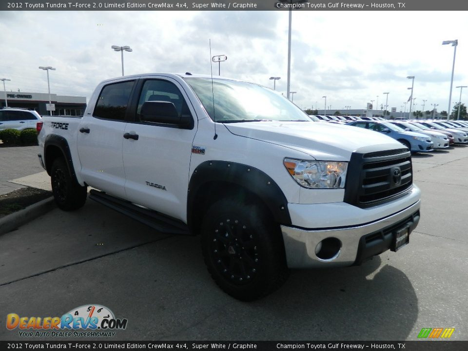 2012 toyota tundra t force 2 0 limited edition crewmax 4x4 super white graphite photo 3. Black Bedroom Furniture Sets. Home Design Ideas