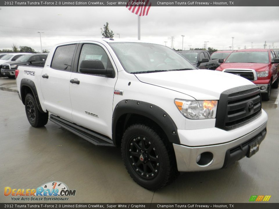2012 toyota tundra t force 2 0 limited edition crewmax super white graphite photo 3. Black Bedroom Furniture Sets. Home Design Ideas