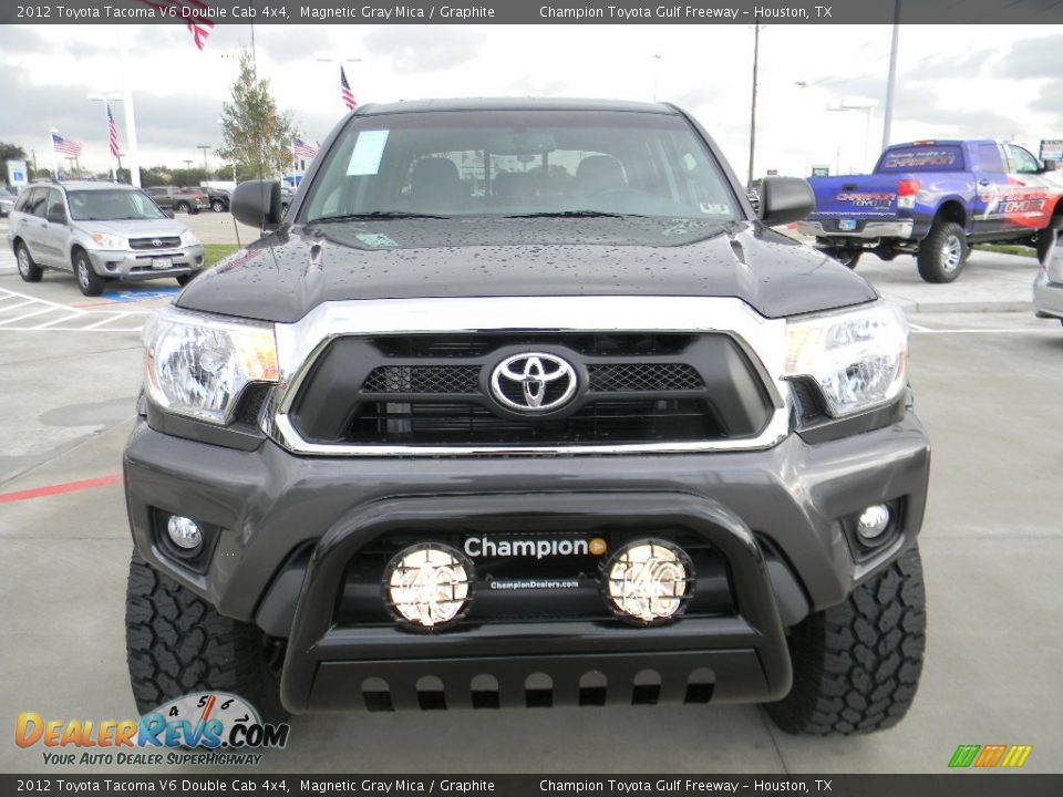 2012 toyota tacoma v6 double cab 4x4 magnetic gray mica graphite photo 2. Black Bedroom Furniture Sets. Home Design Ideas