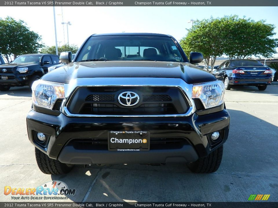 2012 toyota tacoma v6 sr5 prerunner double cab black graphite photo 3. Black Bedroom Furniture Sets. Home Design Ideas