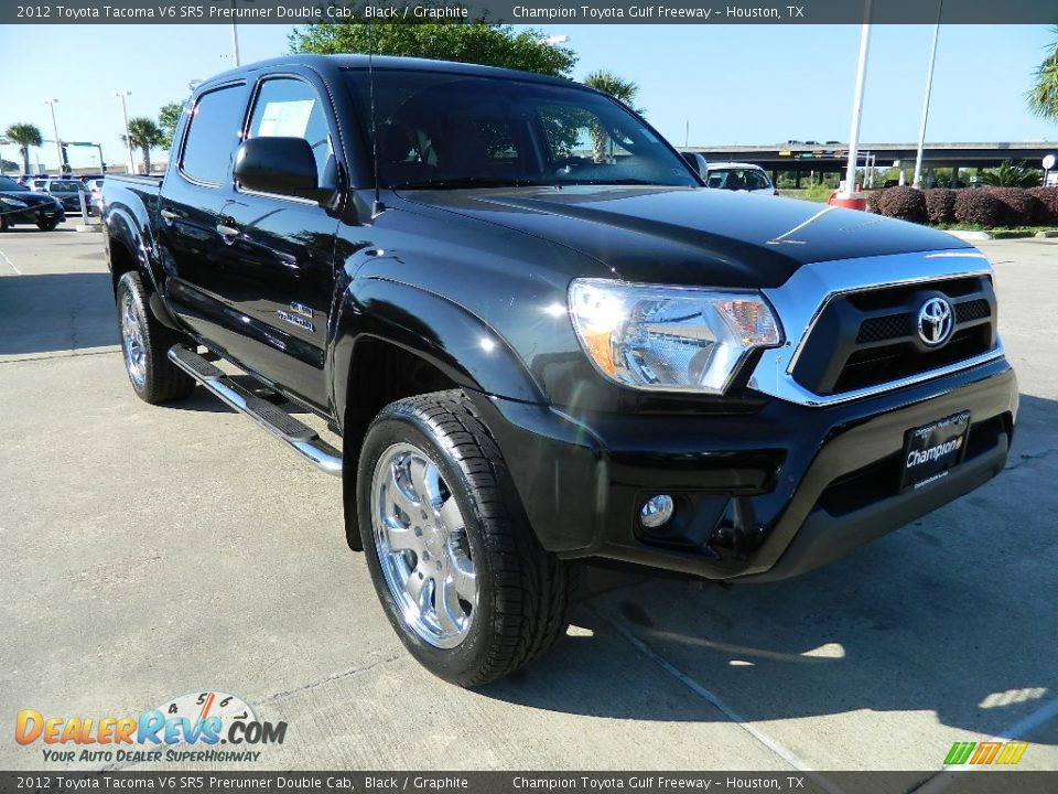 2012 toyota tacoma v6 sr5 prerunner double cab black graphite photo 4. Black Bedroom Furniture Sets. Home Design Ideas