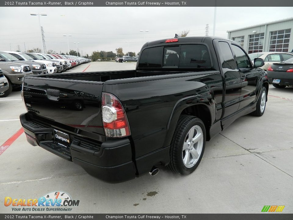 2012 Toyota Tacoma X Runner Black Graphite Photo 5