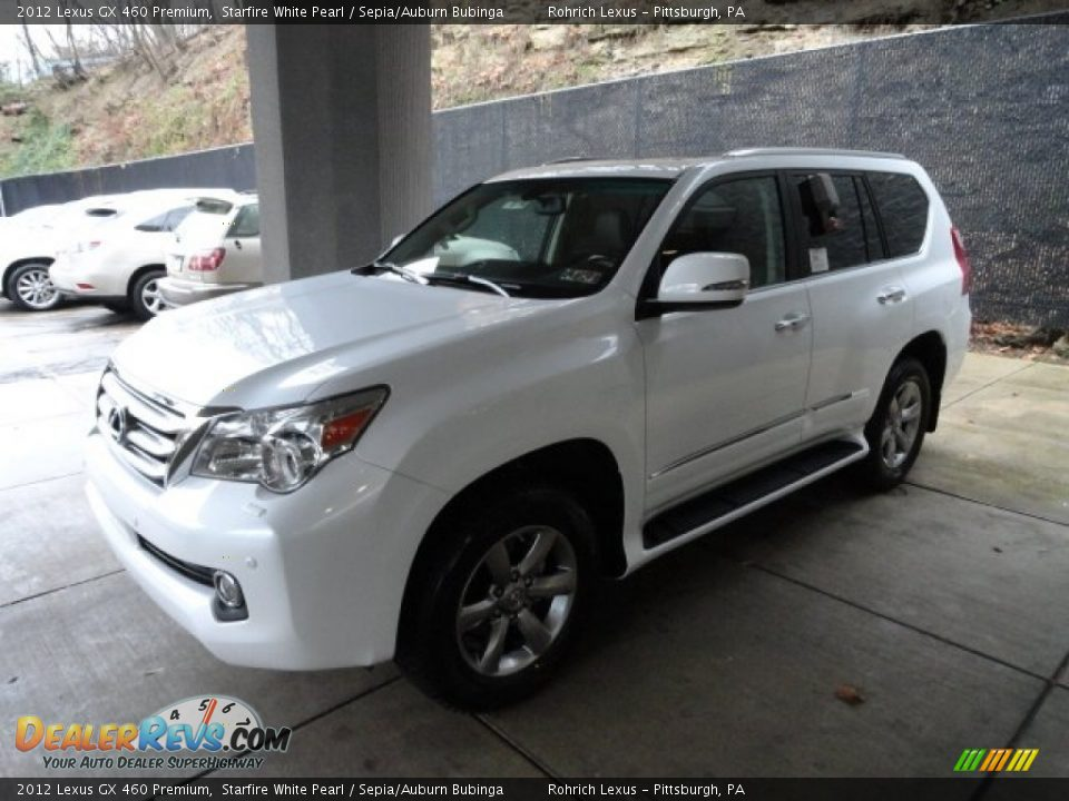 2012 lexus gx 460 premium starfire white pearl sepia. Black Bedroom Furniture Sets. Home Design Ideas