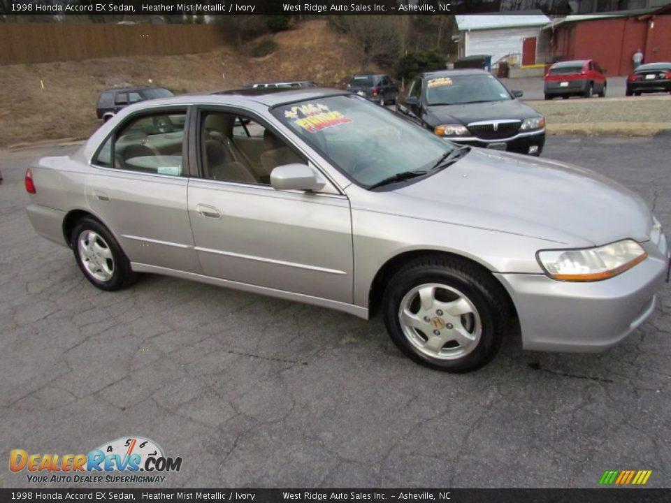 1998 Honda Accord Ex Sedan Heather Mist Metallic Ivory