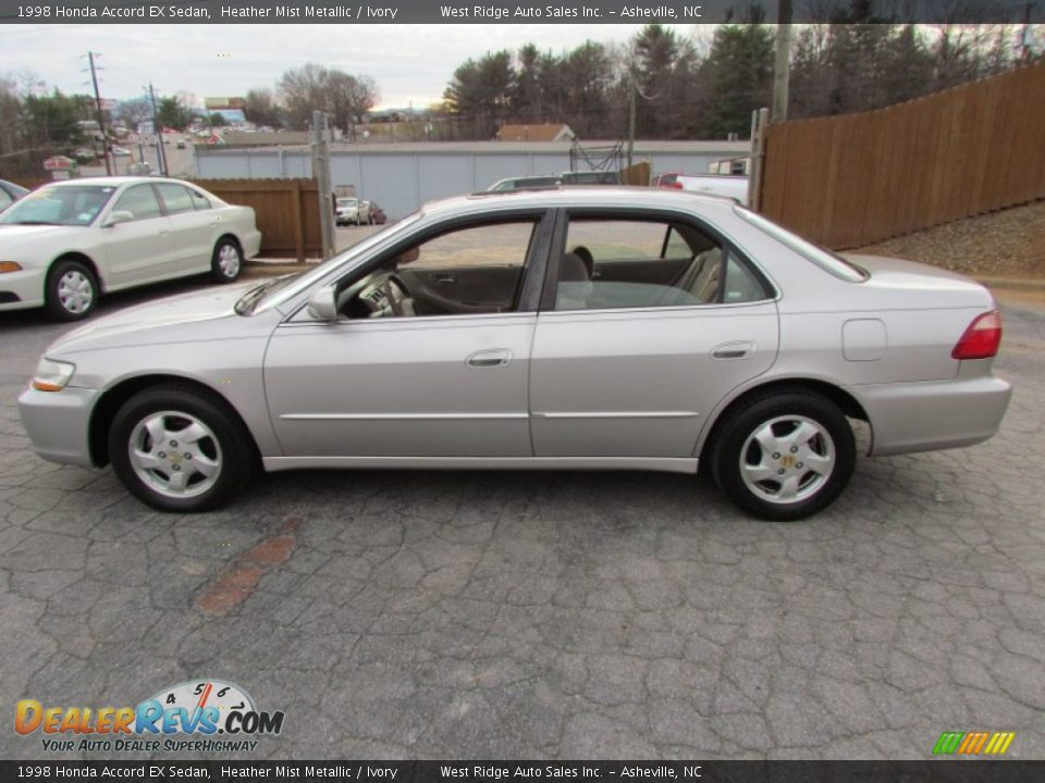 1998 Honda Accord Ex Sedan Heather Mist Metallic Ivory