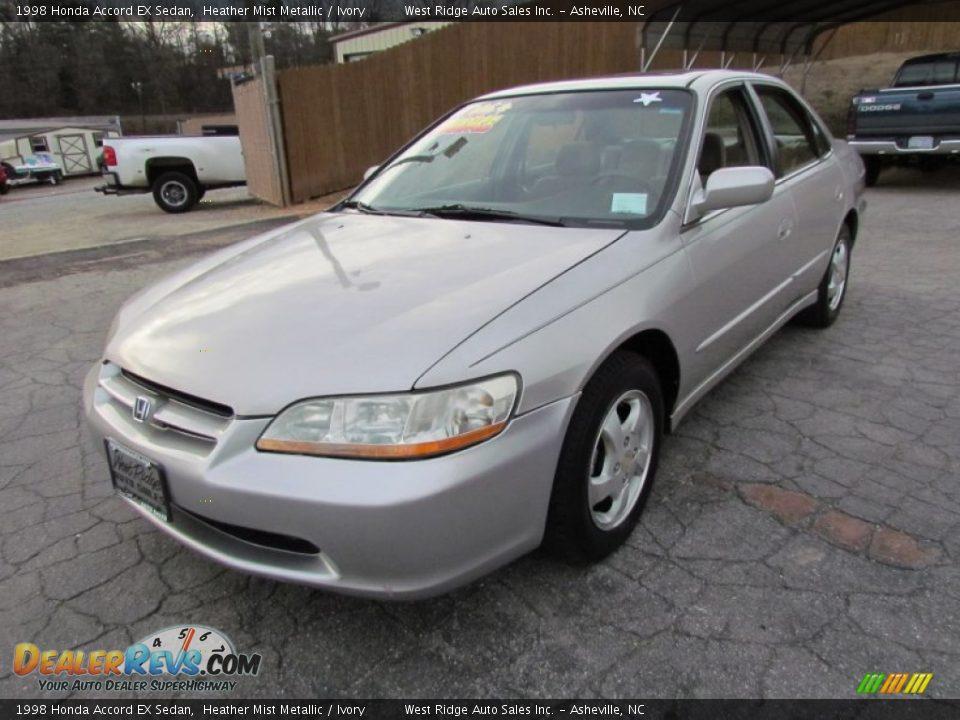 1998 Honda Accord EX Sedan Heather Mist Metallic / Ivory ...