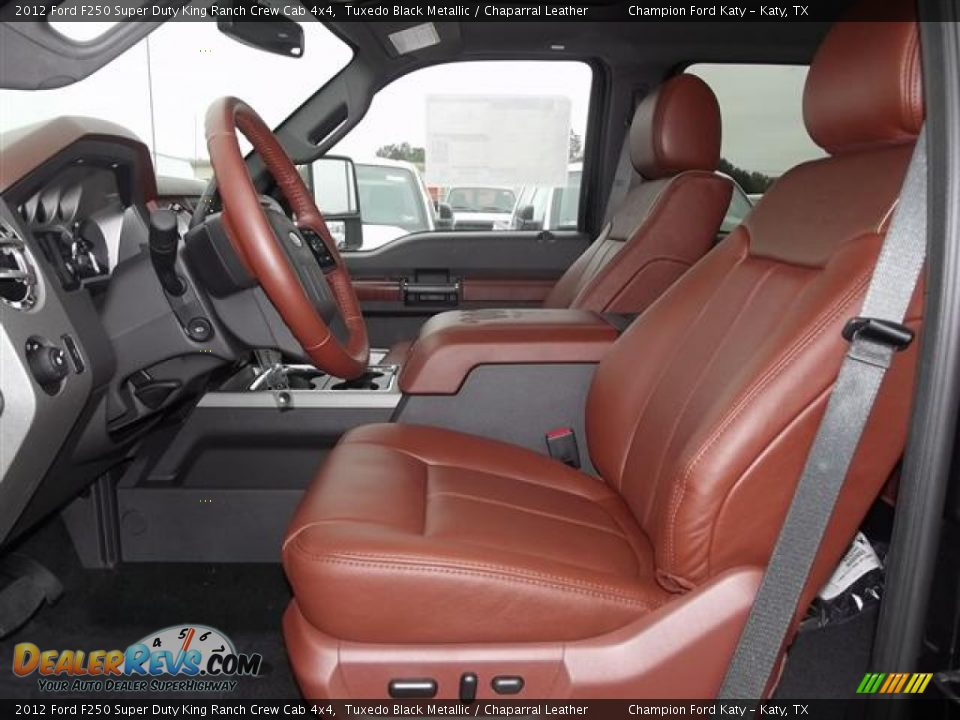 Chaparral Leather Interior 2012 Ford F250 Super Duty King Ranch Crew Cab 4x4 Photo 10
