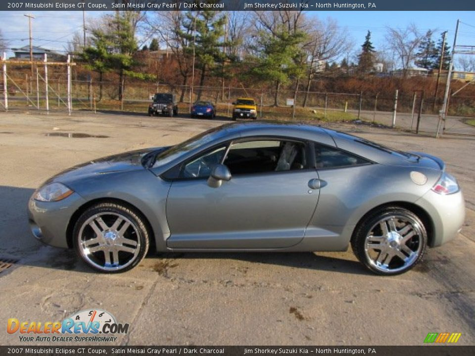 2007 mitsubishi eclipse gt coupe satin meisai gray pearl dark charcoal photo 6. Black Bedroom Furniture Sets. Home Design Ideas
