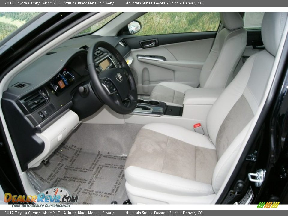 2012 camry hybrid interior