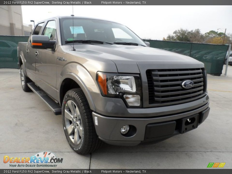 2012 ford f150 fx2 supercrew sterling gray metallic black photo 1. Black Bedroom Furniture Sets. Home Design Ideas