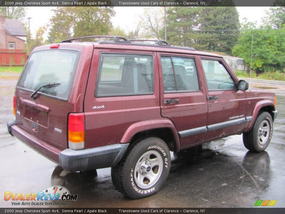 2000 jeep cherokee sport 4x4 sienna pearl agate black photo 2. Cars Review. Best American Auto & Cars Review