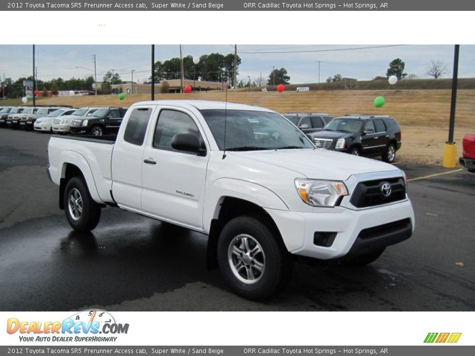 front 3 4 view of 2012 toyota tacoma sr5 prerunner access cab photo 7. Black Bedroom Furniture Sets. Home Design Ideas