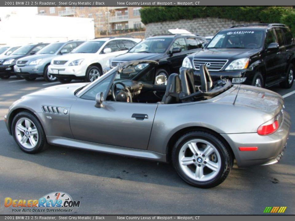 Bmw Z 2001 Bmw Zi Roadster Steel Grey Metallic Black
